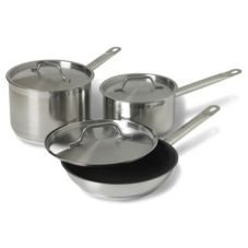 Vollrath® Optio™ S/S Cookware Set w/ Aluminum Bottom