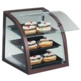 "Cal-Mil P255-52S Countertop Slanted 17 x 17 x 18"" Display Case"