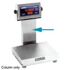 "Doran 14"" Stainless Steel Column for 7200XL/15 Digital Scale"