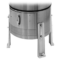 Hobart 6115-CBTSST Cabinet Base and Trap with S/S Strainer