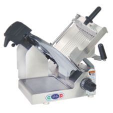 "Globe Food S/S Manual Slicer w/ 13"" Precise Edge™ Knife"