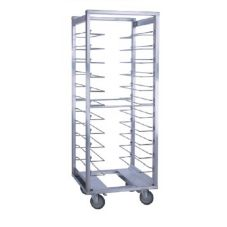 CresCor 207-UA-12-CM Correctional Roll-In Refrig, Open Frame Rack