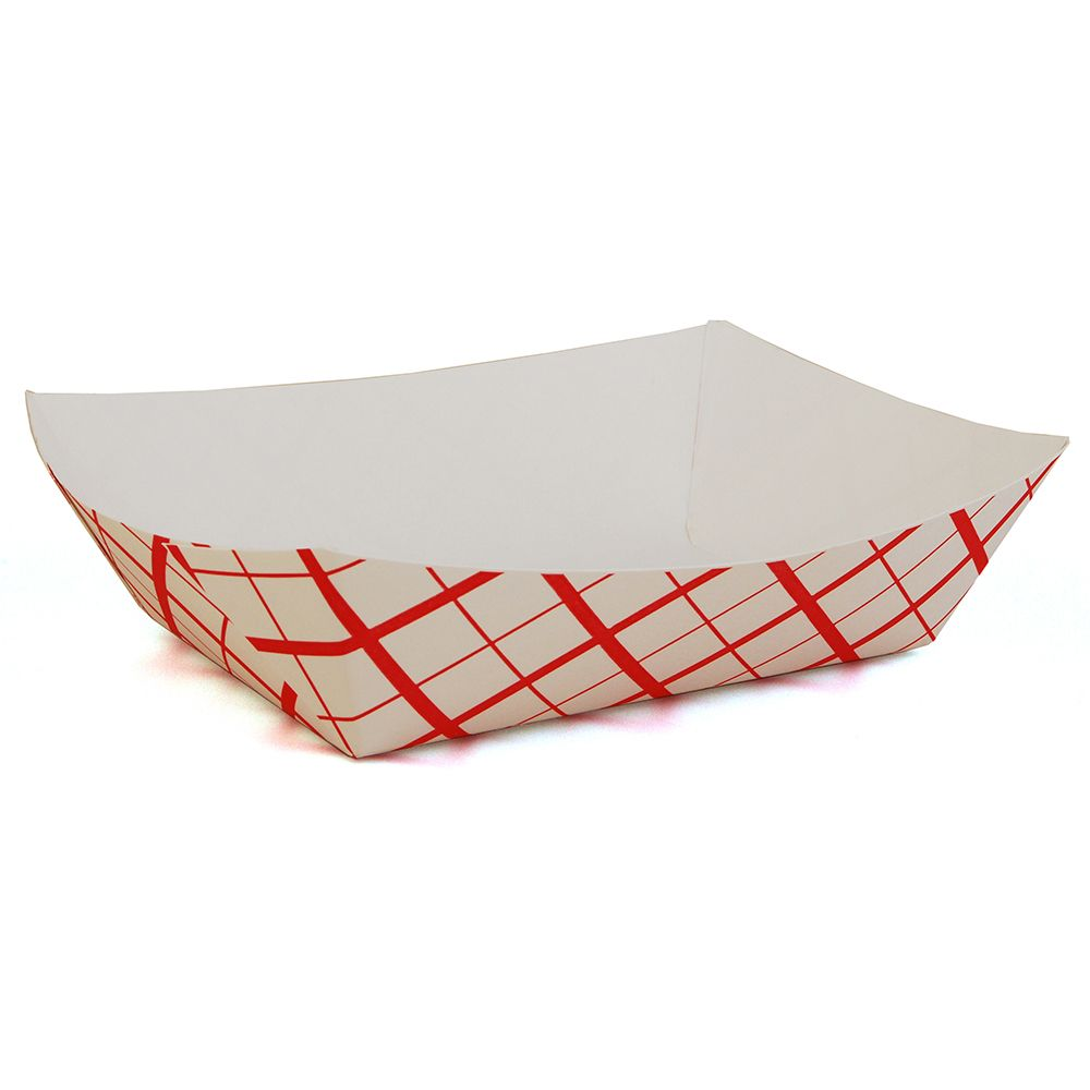 Spring Grove 15300600 Red Weave 5 Lb Paperboard Food Tray - 500 / CS at Sears.com
