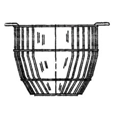 Basket Insert, Single, For 10