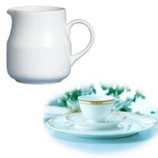 Steelite 42054324 Royal Court Felicia 5-1/2 Oz Creamer - 24 / CS