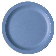 Cambro 825CWNR401 Camwear Slate Blue 8-1/4 Narrow Rim Plate - 48 / CS