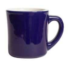Tuxton® 8 Oz. Cobalt/Eggshell Old Time Mug