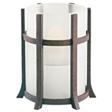 Sterno Products® 85154 Rust Grande Castle Lamp Base