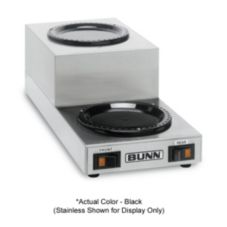 BUNN® 12882.0006 WS2 Black Twin Coffee Warmer