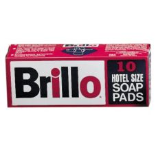 "Continental Brillo® 4"" Hotel Size Soap Pad"