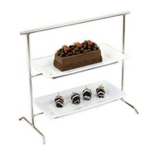 Dover European Metalwork D-790NP Nickel Chrome Mint Tray Stand