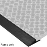 NoTrax 437-525 Black Attachable Ramp For Tek-Tough Floor Mat - 6 / CS