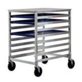 New Age Industrial 1313 Aluminum Undercounter Height Mobile Pan Rack