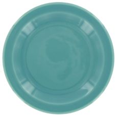 "Homer Laughlin 212107 Colorations Turquoise 6-1/2"" Plate - 36 / CS"