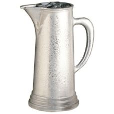Bon Chef 4013 PEWTER Aluminum Tall 3 Qt Water Pitcher