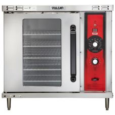 Vulcan Hart GCO2D Half Size Single-Deck Gas 25,000 BTU Convection Oven