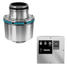 "Salvajor 1.5-HP Disposer w/ Safety Disconnect / 18"" Cone Assembly"
