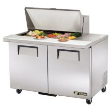 True® TSSU-48-15M-B S/S 12 Cu Ft 15-Pan Top Sandwich / Salad Unit