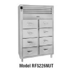 Traulsen RFS226N-1 R-Series 8-Drawer Fish / Poultry File Refrigerator