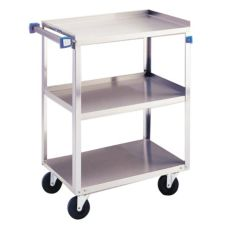 Lakeside® 311 Stainless Steel 300 lb Capacity 3-Shelf Cart