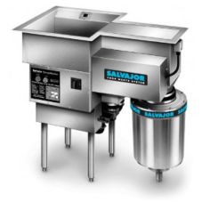 Salvajor 500 SM ScrapMaster 5-HP Pre-flushing and Disposal System
