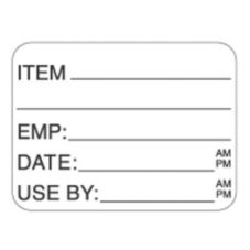"DayDots 10228-00-11 SupeRemovable 1-1/2"" x 1"" USE BY Label - 1000 / RL"