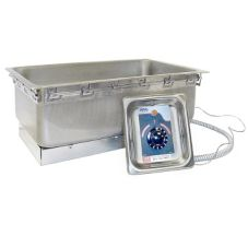 APW Wyott UL Listed Top Mounted Food Warmer, w/ Drain, TM-12LD UL