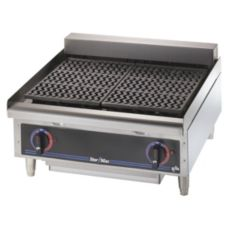 "Star® 5124CF Star-Max® Counter Electric 24"" Char-Broiler"