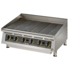 "Star® Mfg. Ultra-Max™ 60"" Lava Rock Gas Char-Broiler"