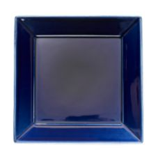 "Homer Laughlin 561105 Fiesta Cobalt Blue 12"" Square Plate - 12 / CS"