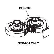 Bar Maid GER-906 Idler Gear For All Glass Washers