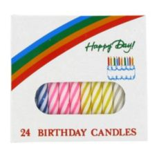 "Sterno® Spiral 2-1/4"" Birthday Candles"