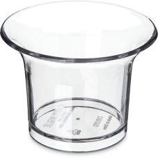 Carlisle® 82007 2.75 Oz. Clear Oyster Sauce Cup - Dozen