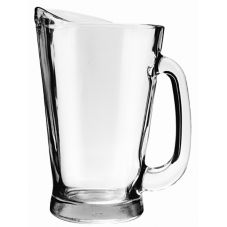 Anchor Hocking 1155UR Beer Wagon 55 oz Glass Pitcher - 6 / CS