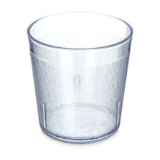 Carlisle® 552907 Stackable 9 Oz. Clear Old Fashioned Tumbler