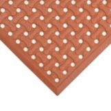 Apex™ T18U0046RD Superflow® 4' x 6' Red Floor Mat