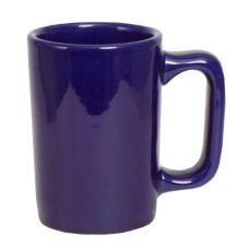 Tuxton® BCM-1007 10 Oz. Cobalt Texan Mug - 24 / CS