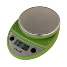 Escali® Primo Tarragon Green 11 lb Portable Digital Scale