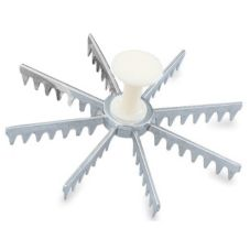 Vollrath® 47052 Cast Aluminum 8-Cut Pie Marker with Plastic Handle