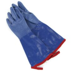 "Tucker Safety 92142 Small Blue 14"" Seam-Sealed SteamGlove - Pair"