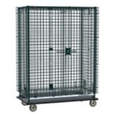 "Metro SEC35EK3 Green Epoxy Mobile 50""L Security Unit With Metroseal 3"