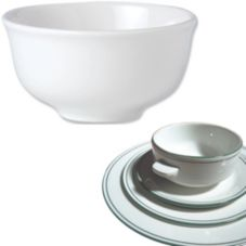 Steelite 13150219 Simplicity Laguna 11 Oz Club Soup Bowl - 36 / CS