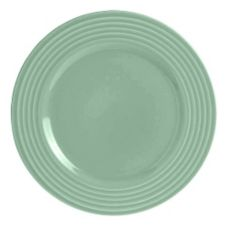 "Steelite B074P307 Anfora Tiffany Palm Leaf 9"" Plate - 24 / CS"