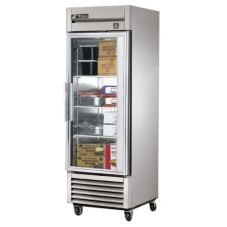 True® TS-23FG Reach-In Glass Swing Door 23 Cu Ft Freezer