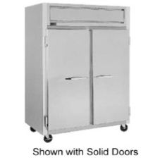 Randell® Pass Thru Double Glass Door Refrigerator