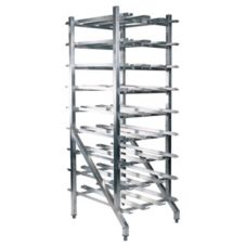 Win-Holt® CR-162AJ Aluminum Can Storage Rack with Adjustable Feet