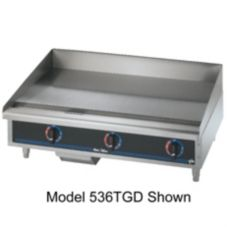 "Star® 515TGF Star-Max 15"" Electric Griddle with Thermostat"