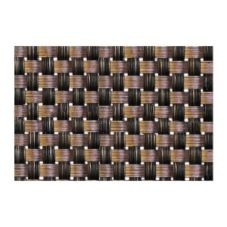 "FOH XPM054COV83 16"" x 12"" Copper Basketweave Mat - Dozen"