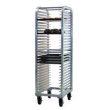 New Age Industrial 4330 Full Height HD Aluminum 30-Pan Capacity Rack