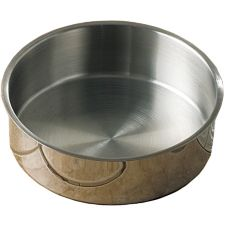 "Bon Chef 12016 S/S Petite Round 10-7/8"" Water Pan for Chafer"